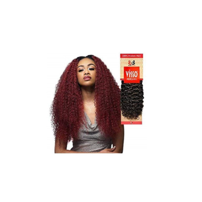 "Bobbi Boss Human Hair Visso Persian Jerry Curl 10"" #1"
