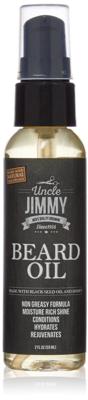 Uncle Jimmy Beard Growth Oil 2oz