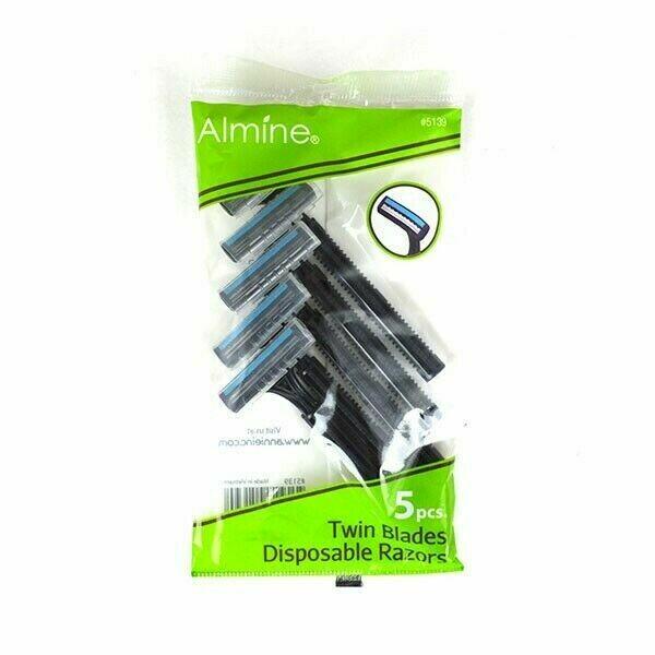 Almine Twin Blades Disposable Razors