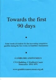 Gamblers Anonymous Towards 90 Days PDF eBook