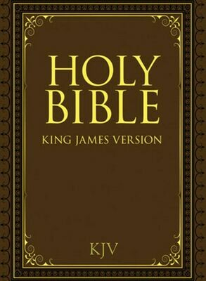Holy Bible - King James Version Ebook & PDF (Free)