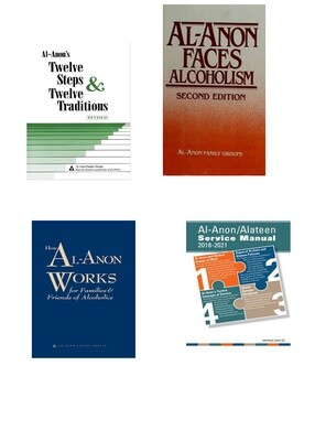 Al-Anon Literature: Combo Pack