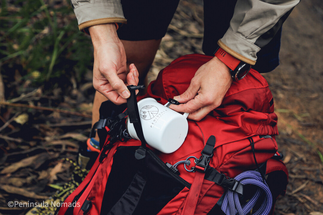 Nomads Camping Mug
