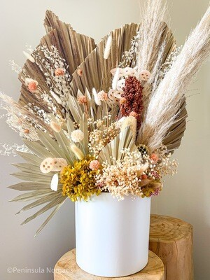 Large Dried Flower Arrangement