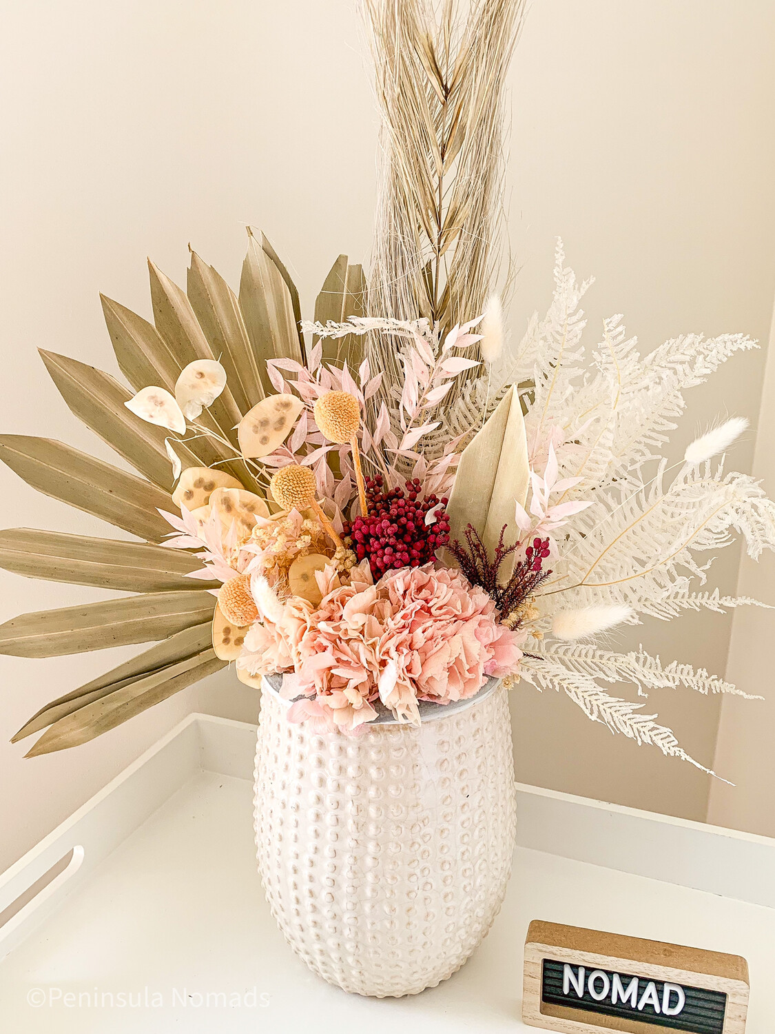 Dried Flower Arrangement Ina