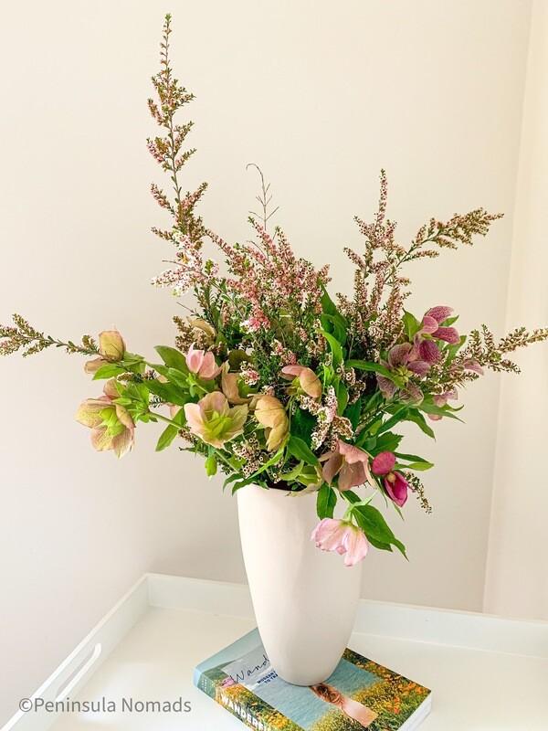 Fresh Flower Bouquet Freefall Minimal
