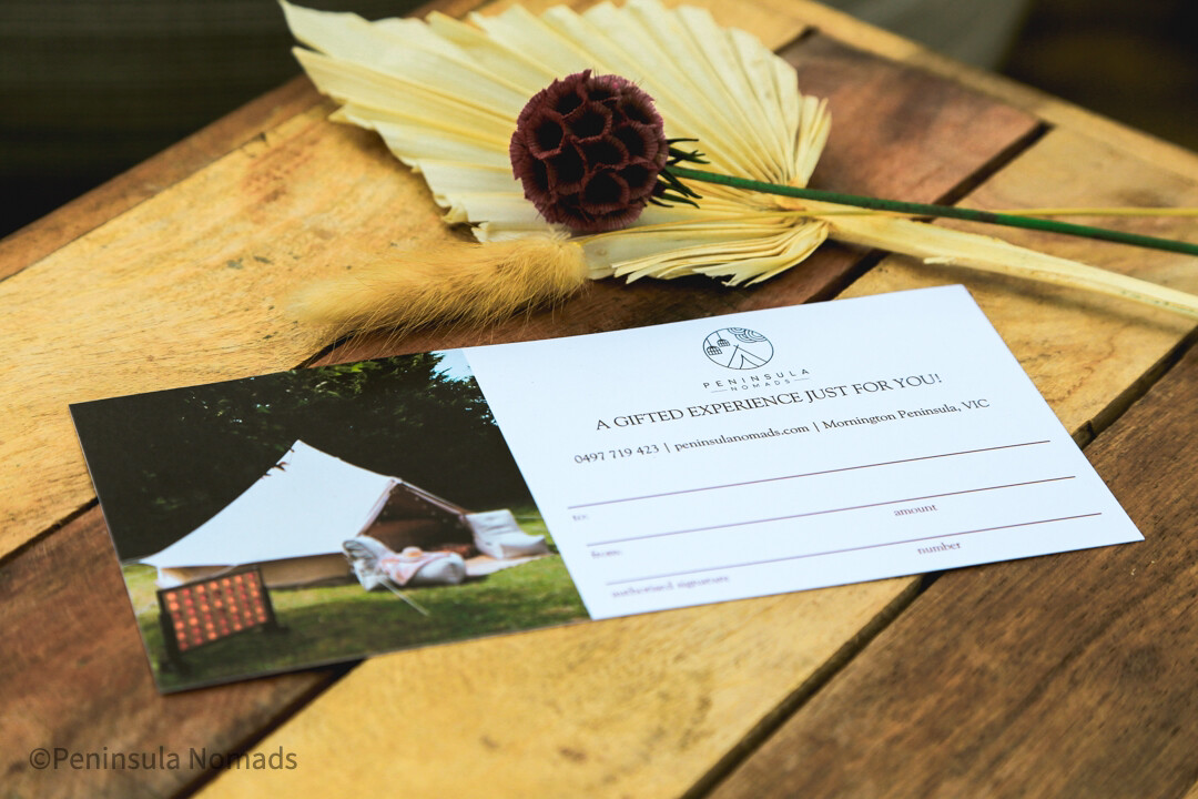 Peninsula Nomads Gift card