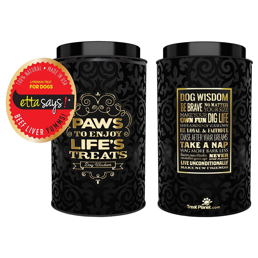 Freeze Dried Beef Liver Small Gift Tin 1.6 OZ