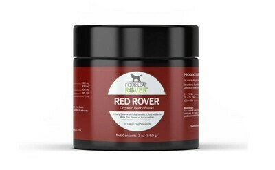 RED ROVER - ORGANIC BERRIES FOR DOGS