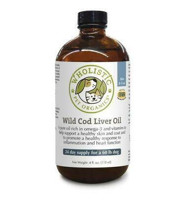 Wild Cod Liver Oil 8 oz