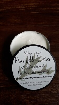 Marigold under-eye and face cream with Pomegranate