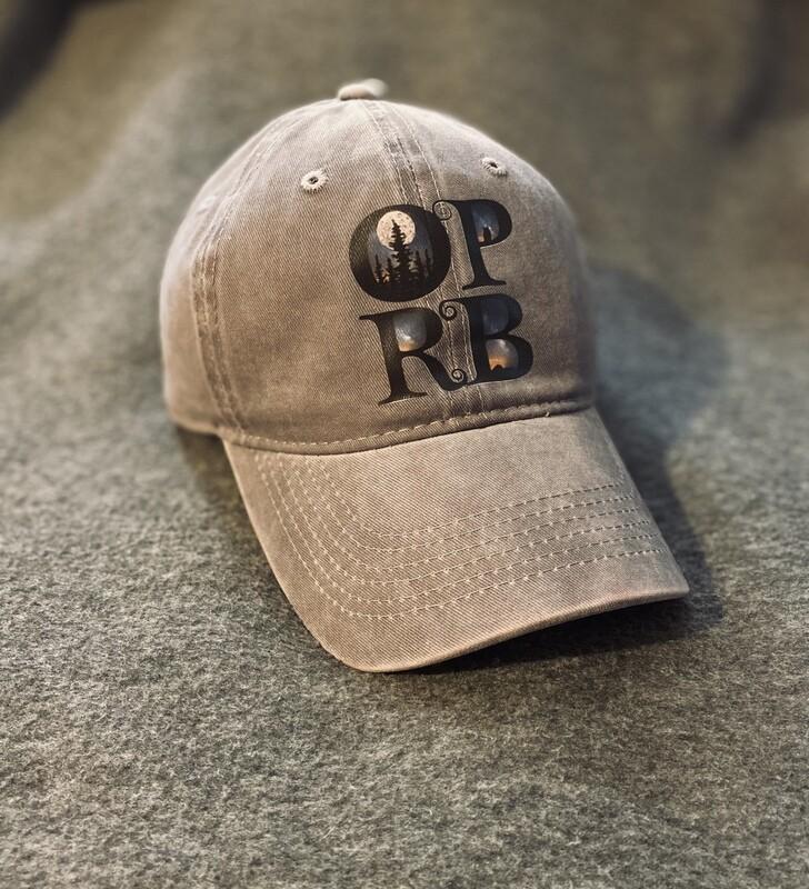 Faded Gray OPRB Ball Cap