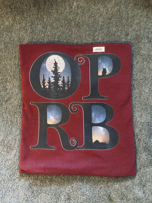Red OPRB T-shirt