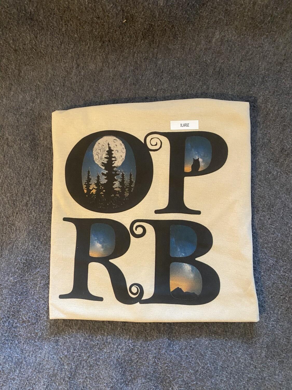 Cream OPRB T-shirt
