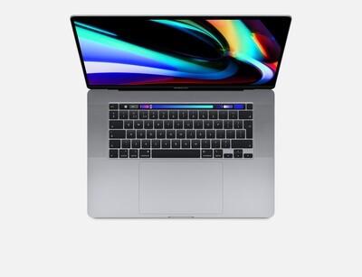 "New Apple MacBook Pro 16""/2.6GHz 6-core 9th-generation Intel Core i7/16GB RAM/1.5TB SSD storage/AMD Radeon Pro 5300M with 4GB of GDDR6/DVD-Drive/USB Hub/Dual boot with Windows 10 or Linux"