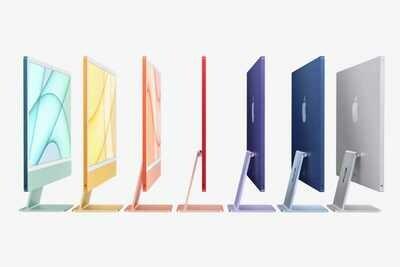 "Apple iMac 24""/8-Core M1 Chip/8GB RAM/7-Core GPU/1.25TB SSD Storage/Office for Mac/DVD Drive/4-port USB 3.0 hub with Ethernet"