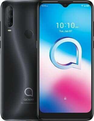 ALCATEL 3L 5029D 64GB Dual Sim Dark Chrome (2020)