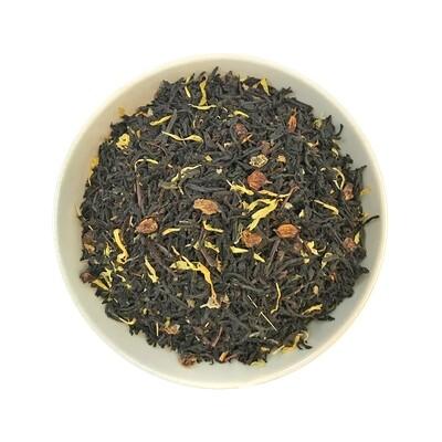 Черный чай с облепихой