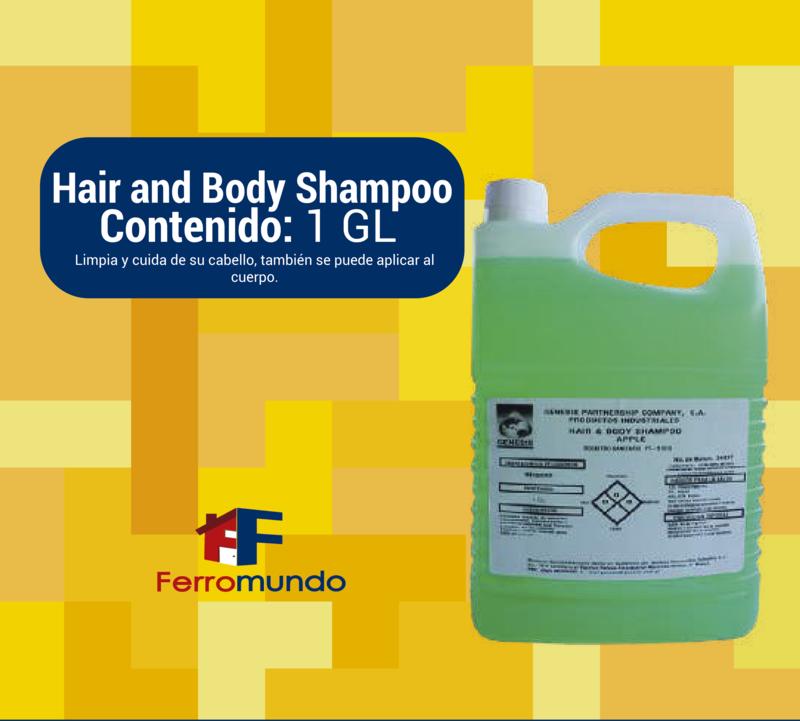 Hair & Body. Champú y jabón