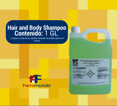 Hair & Body. Champú y jabón
