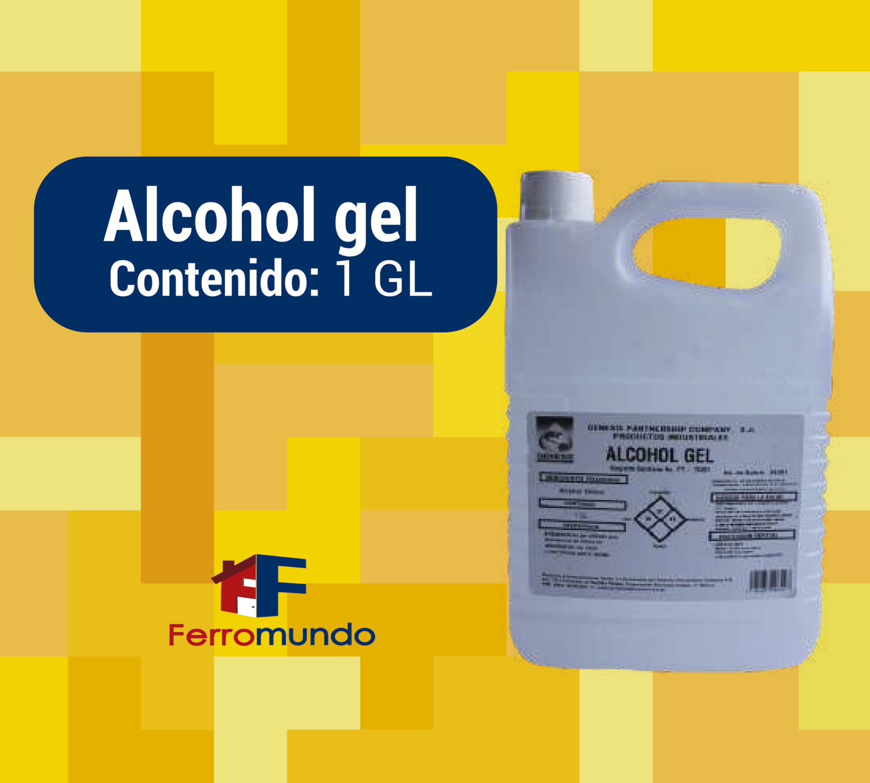 Alcohol gel galón