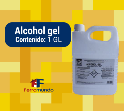 Alcohol gel galón