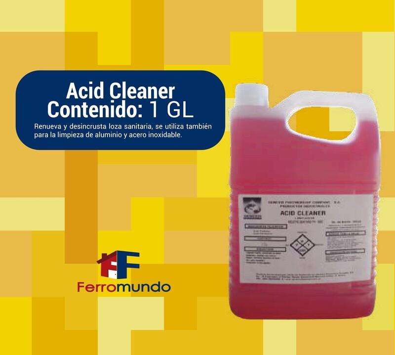 Acid Cleaner renovador de superficies
