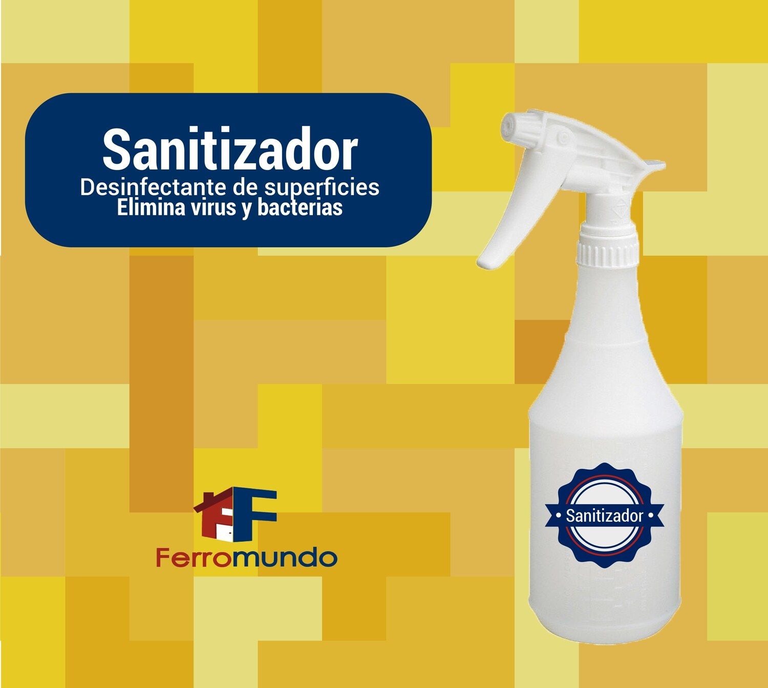 Sanitizador Sanigen 500 ml spray