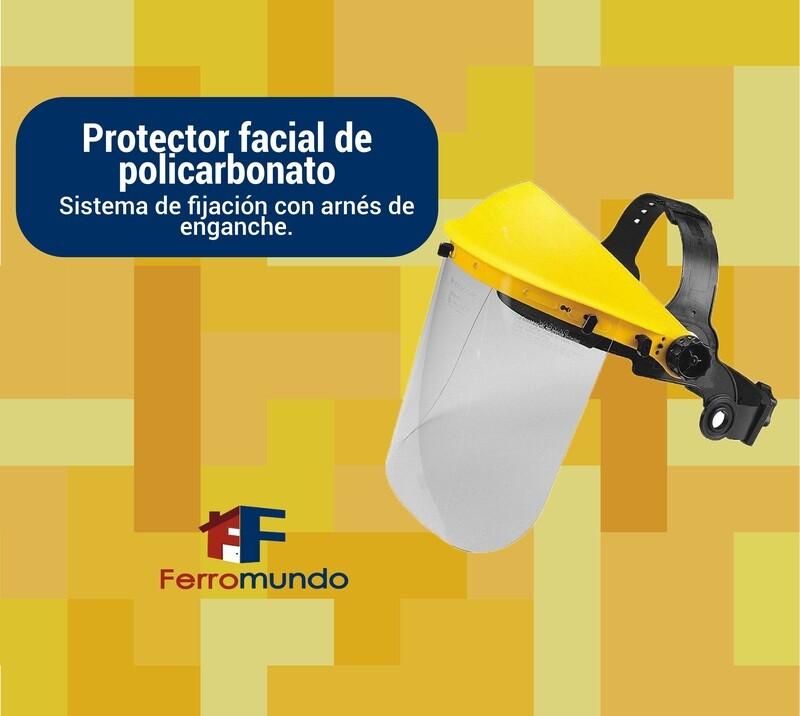 Protector facial policarbonato