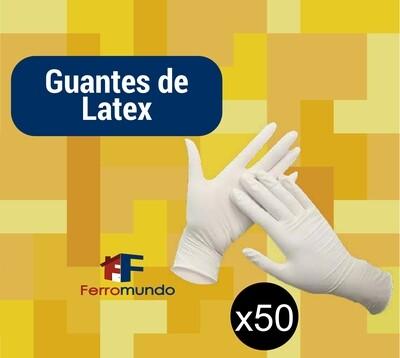 Guante de látex - caja 50 pares