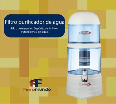 Filtro purificador de agua Casallini