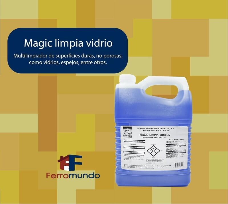 Limpia vidrios Magic 1 galón