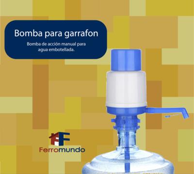Bomba para garrafón de agua