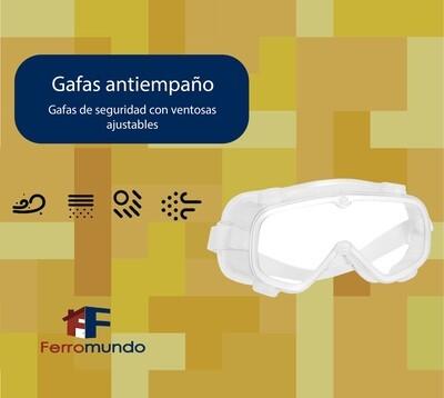 Gafas quiurgicas antiempaño