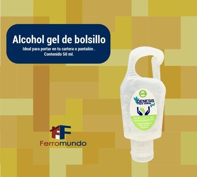 Alcohol gel de bolsillo 50 ml