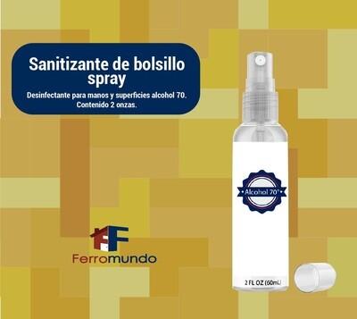 Sanitizane de bolsillo en spray 2 onzas