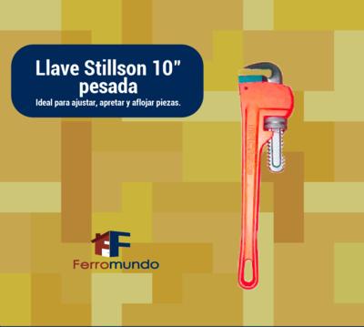 Llave Stillson 10