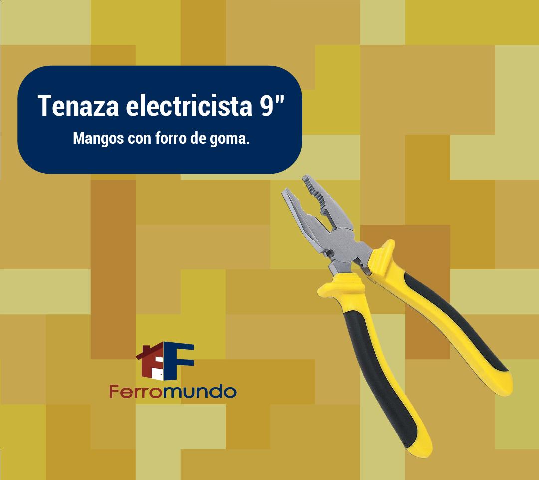 "Tenaza electricista 9"""