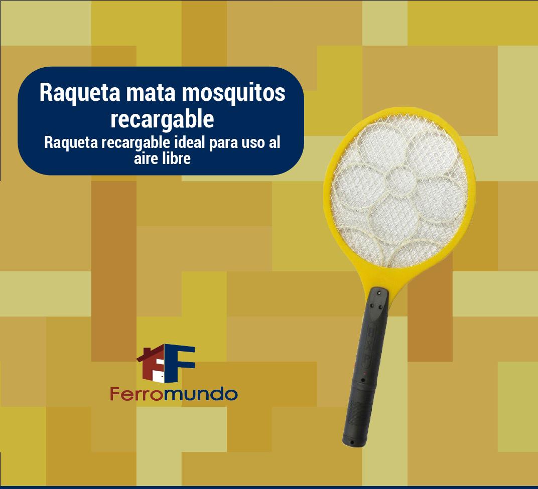 Raquetas mata mosquitos con lampara