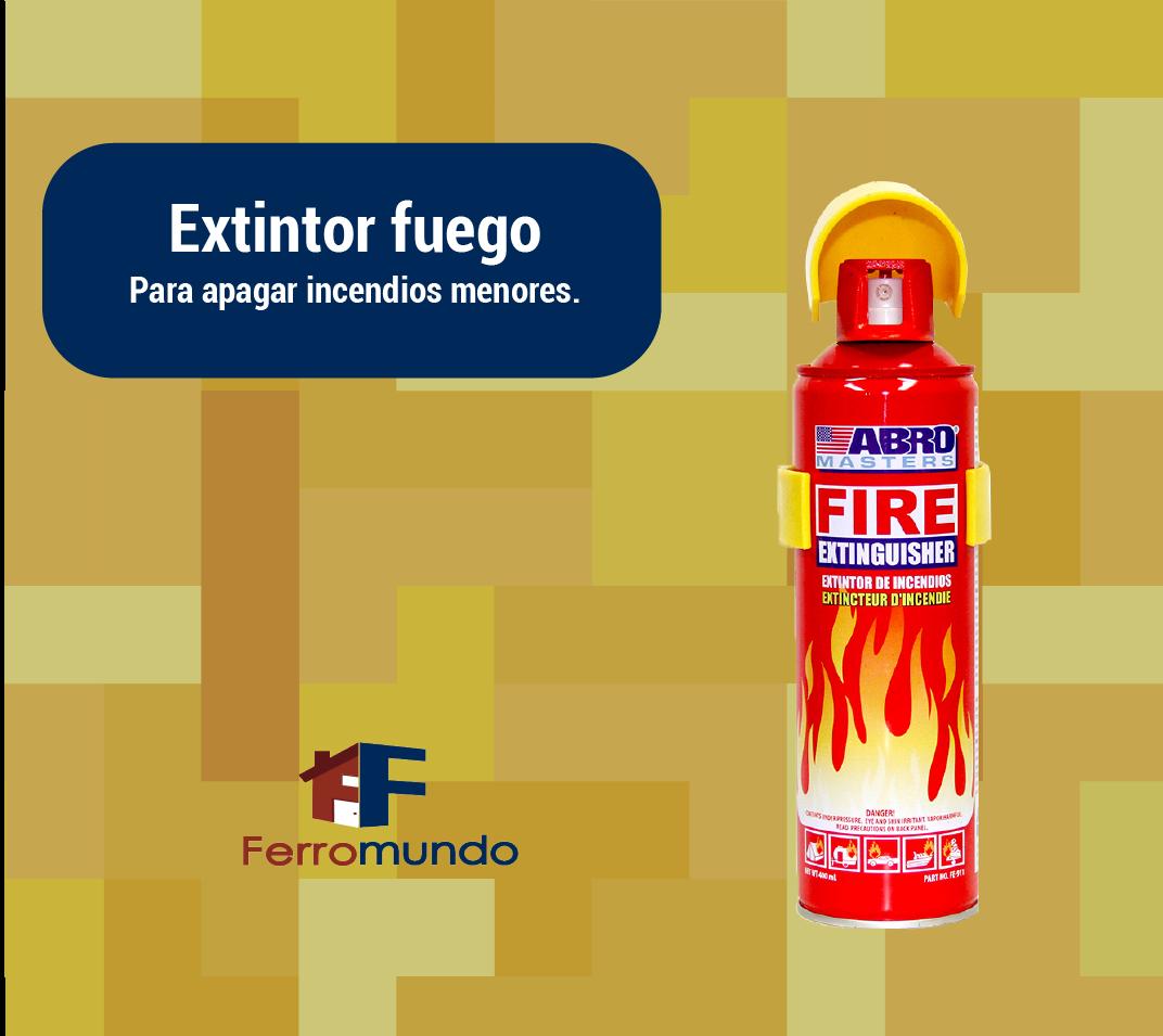 Extintor fuego
