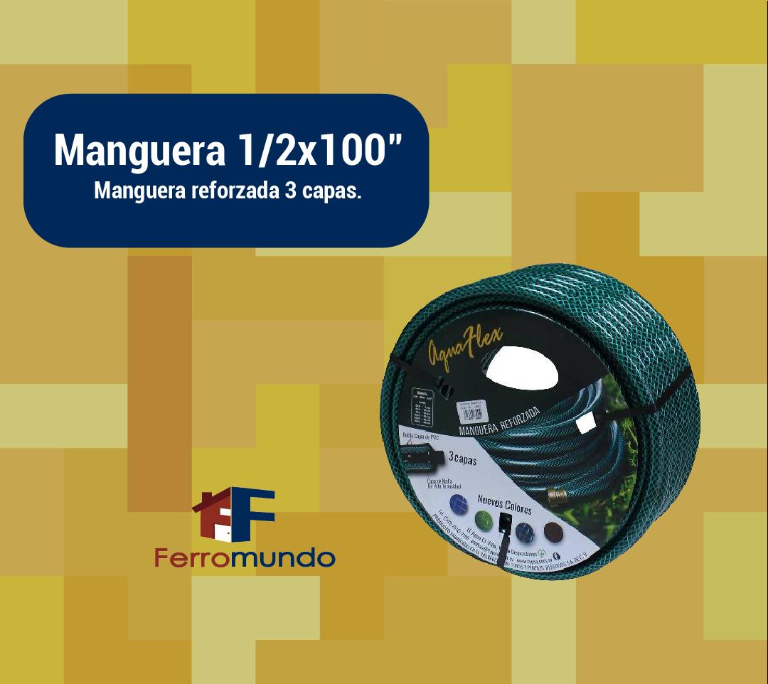 "Manguera 1/2x100"""