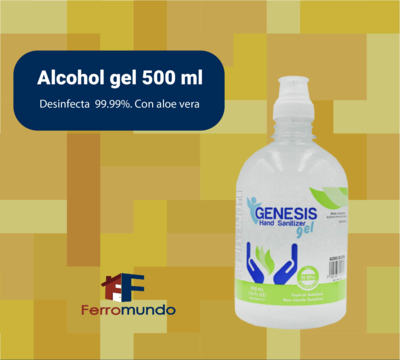 Alcohol gel 500 ml