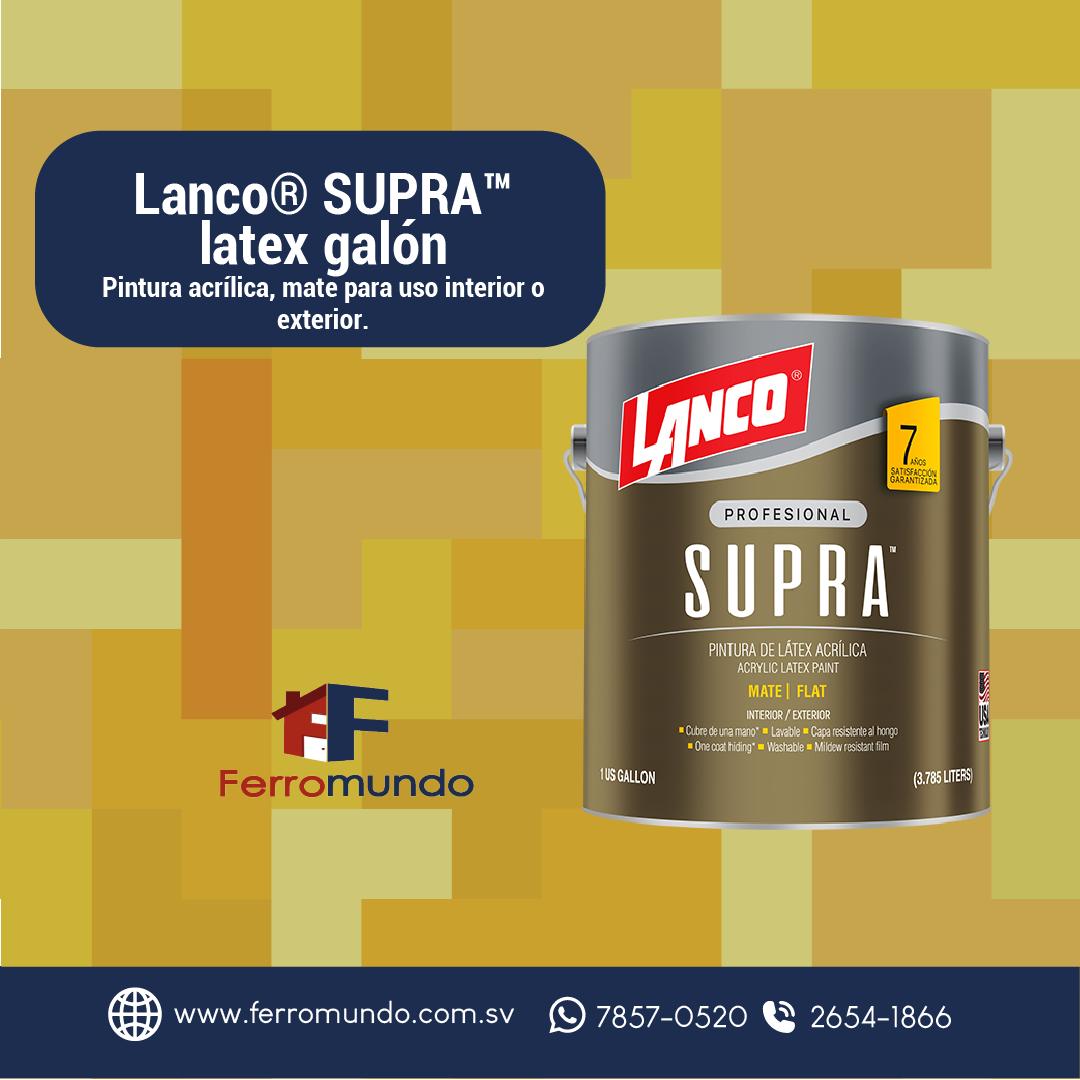 Lanco® SUPRA™  latex  galón