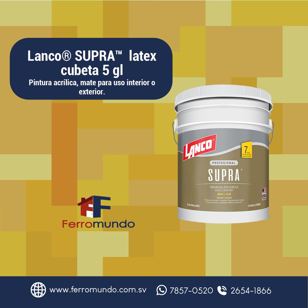 Lanco® SUPRA™  latex  cubeta 5 gl