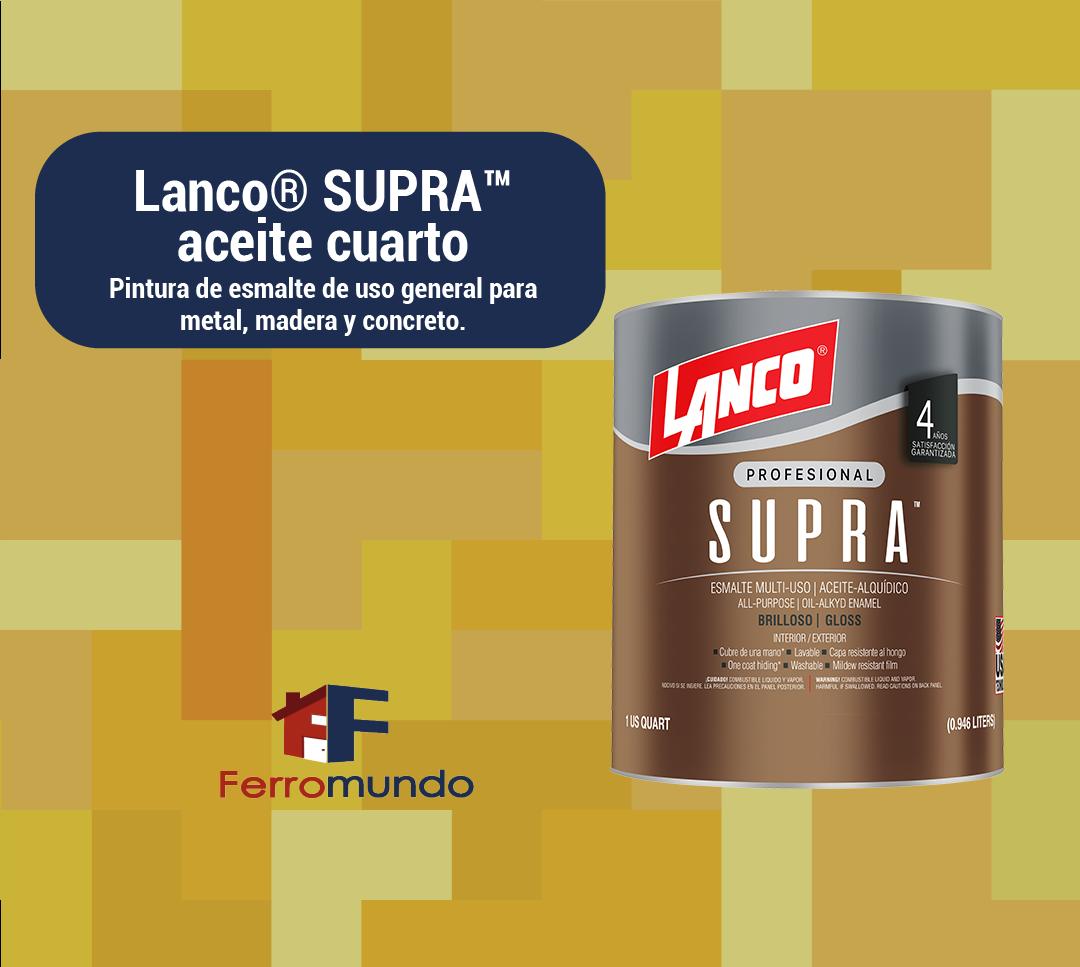 Lanco® SUPRA™  aceite  cuarto