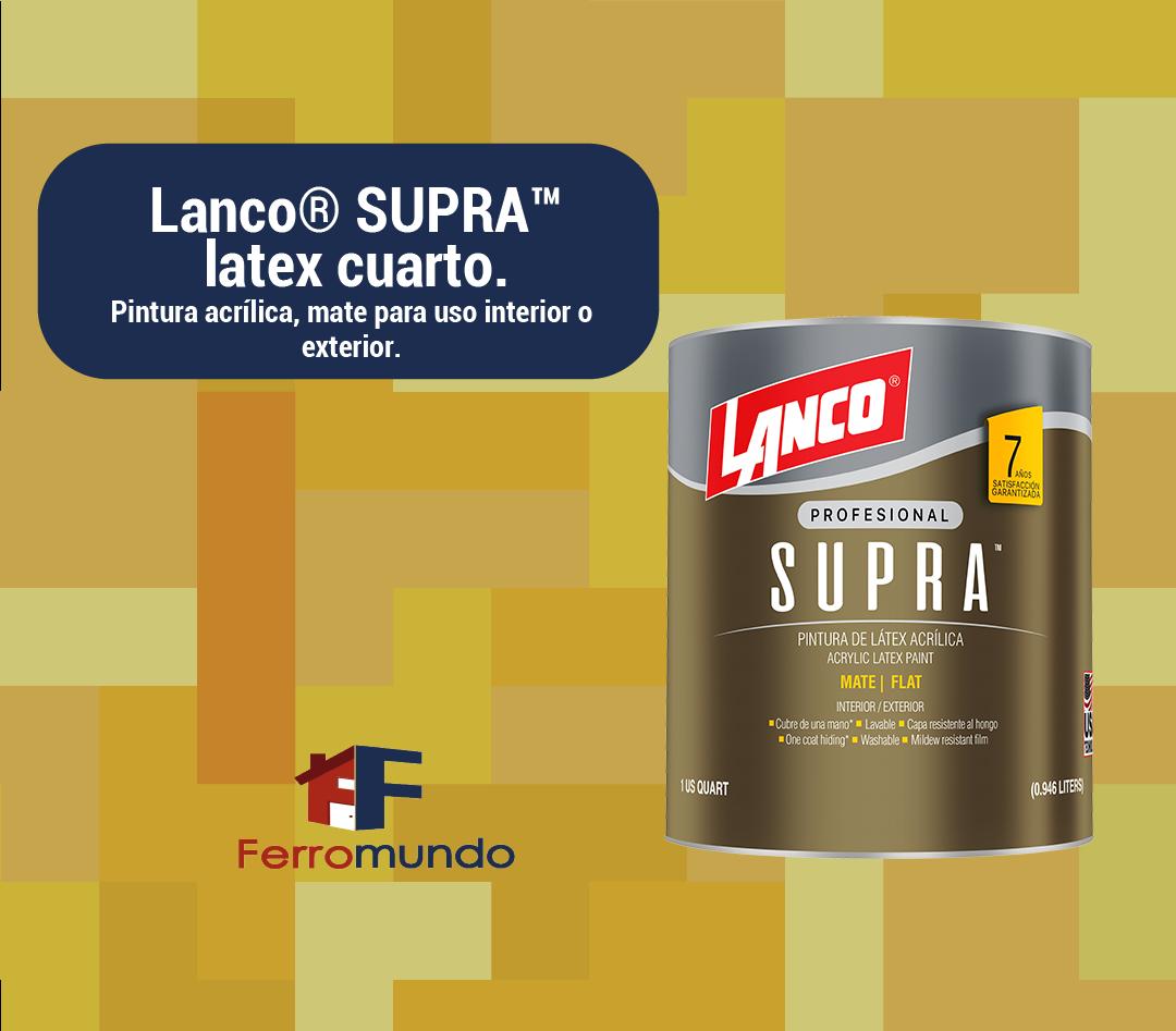 Lanco® SUPRA™  latex  cuarto
