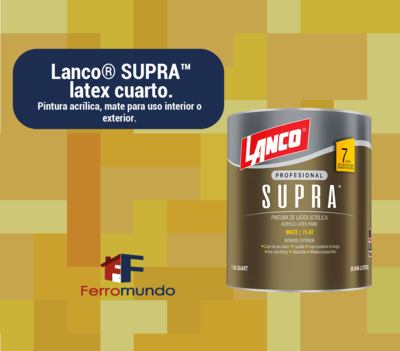 Lanco® SUPRA™  latex  cuarto