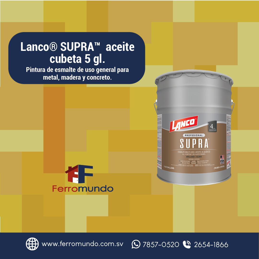 Lanco® SUPRA™  aceite  cubeta