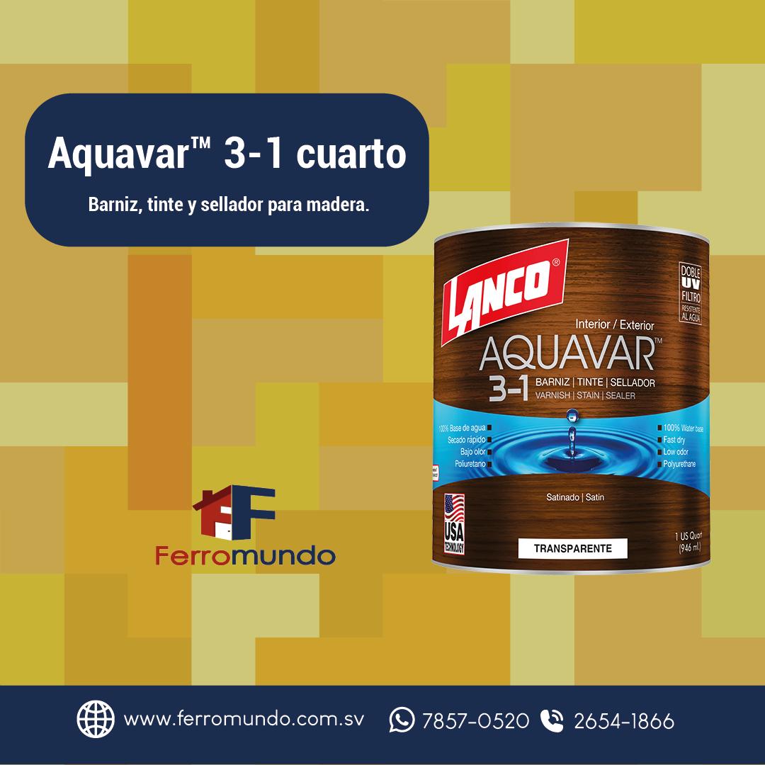 Aquavar™ 3-1 cuarto