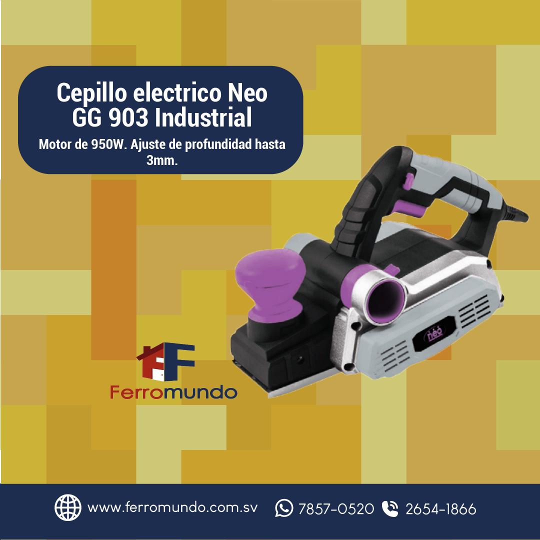 Cepillo eléctrico Neo GG 903 Industrial